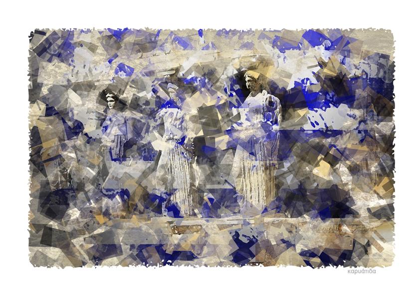 """""""καρυάτιδα""""  PHOTO ART° by Rosemarie Hofer"""